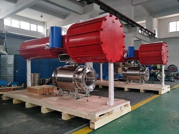 Inconel 625 Trunnion Mounted Ball Valve