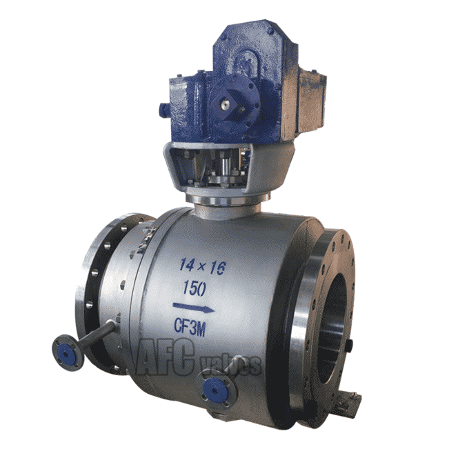Steam Jacketed C Type Ball Valve