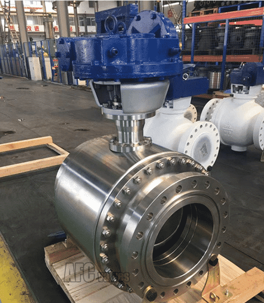 Forged Cutting C-Type Ball Valve