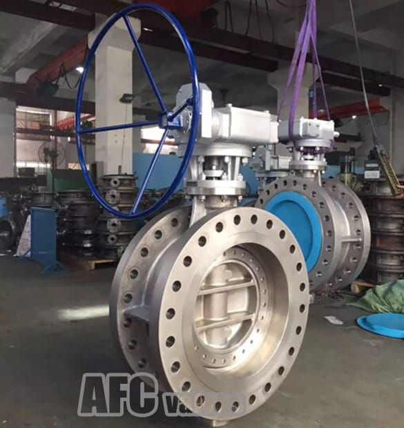 Double Flanged Butterfly Valve\